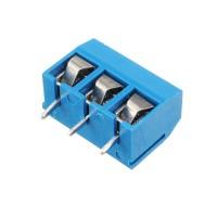 3 Pin 5.08mm Printed Circuit Board Connector Block Screw Terminals