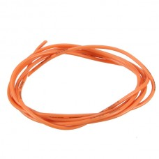 24AWG Flexible Silicone Wire Cable Soft High Temperature Tinned Copper Orange 1/3/5/10M