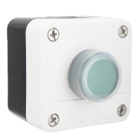 660V 10A One Button ABS Weatherproof Push Button Switch for Gate Opener