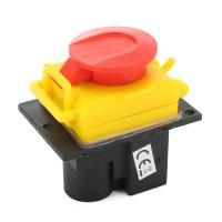 250V Universal DKLD DZ-6-2 15 Amp NVR Switch Emergency Stop Saftey Red Cut Off Killer