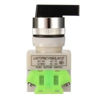 Rotary Three Position Selector Switch Push Button Switch