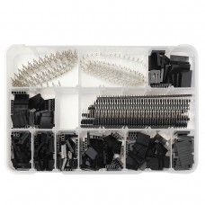 1450pcs 2.54mm Male Female Dupont Wire Jumper With Pin Header Connector Housing Kit