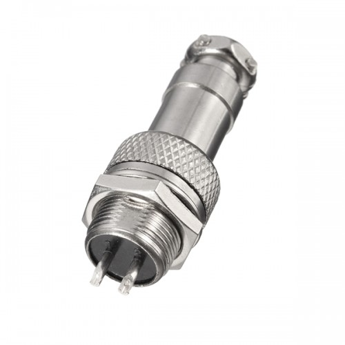 GX12 2Pin Aviation Plug Male/Female 12mm Wire Panel Connector Adapter