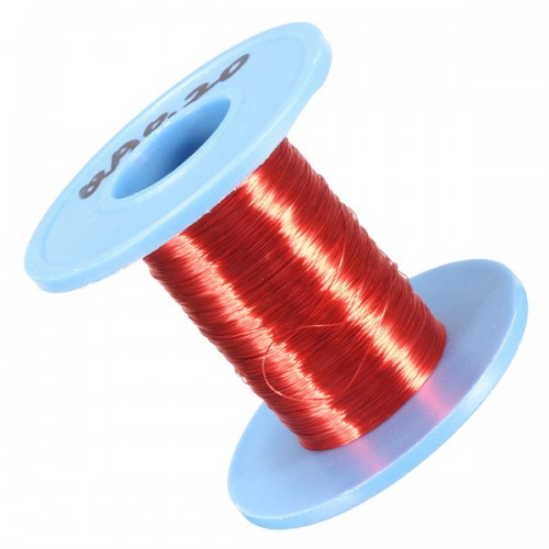 0.2mm×100m Red Copper Magnet Wire Welding Cable Enameled Wire