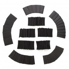 415Pcs 1 Sizes Assortment 2:1 Heat Shrink Tubing Sleeving Wrap Wire Kit φ1-φ31mm