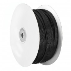 30m 8mm/10mm/12mm/15mm/20mm Expandable Wire Cable Sleeving Braided Tubing Black