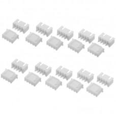 100Pcs Mix Kit XH 2.54 2P 3P 4P 5P 6P Connector Leads Header Housing Pin Header Terminal
