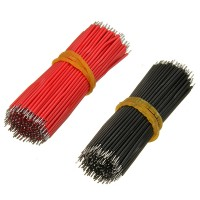 4000pcs 6cm Breadboard Jumper Cable Dupont Wire Electronic Wires Black Red Color