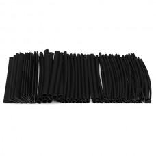 100Pcs Polyolefin 2:1 Halogen-Free Heat Shrink Tubing Kit 6 Sizes 7 Colors