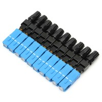10pcs SC-UPC-P Fiber Optic Connector Embedded Quick Connector Adapter